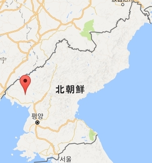 北朝鮮ミサイル発射場所亀城(クソン).jpg